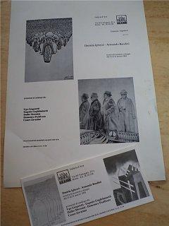 Armando Bandini Daniela Igliozzi Mostra Di Incisioni E Disegni Altre Opere 1983