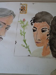 Armando Bandini Daniela Igliozzi Ritratti A Vicenda Olio Su Carta Altre Opere 1982