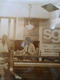 Armando Bandini Daniela Igliozzi Segno Grafico Altre Opere 1982