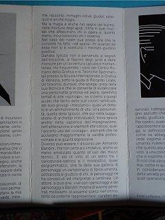 Armando Bandini Presentazione Opere In Mostra Domenico Purificato Altre Opere 1983