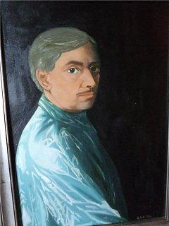 Armando Bandini Ritratto Da Daniela Igliozzi Olio Su Tela Altre Opere 1983