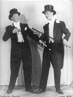 Armando Bandini Da Giovane Con Lucio Willy Avanspettacolo 1946