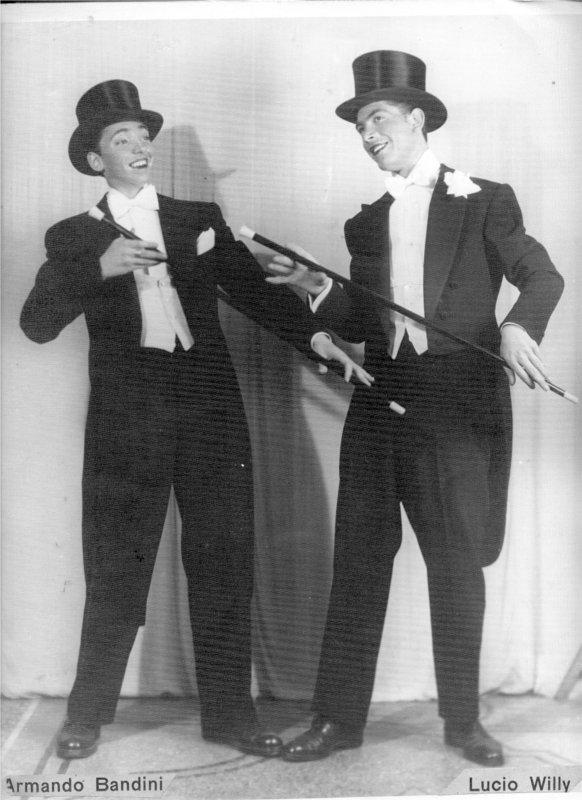 armando-bandini-da-giovane-con-lucio-willy-avanspettacolo-1946