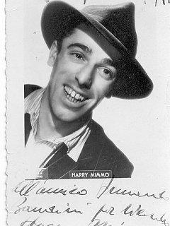Armando Bandini Foto Con Dedica Di Harry Mimmo Avanspettacolo 1946
