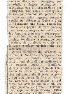 Armando Bandini Giornale Il Secolo Xix Critica Teatrale Avanspettacolo 1948
