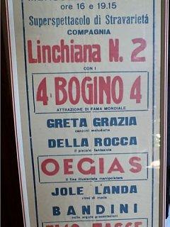 Armando Bandini Manifesto La Linchiana Nr2 2a Avanspettacolo 1945
