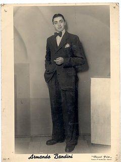 Armando Bandini Da Giovane Atena Film Biografia Aneddoti 1947