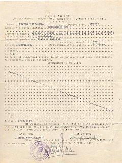 Armando Bandini Primo Contratto Teatro Pittaluga Presentatore Riviste E Varieta Biografia Aneddoti 1945
