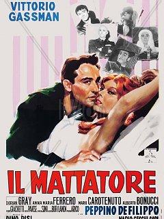 Armando Bandini Il Mattatore Locandina Cinema 1960