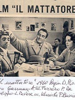 Armando Bandini Nel Film Il Mattatore Cinema 1960