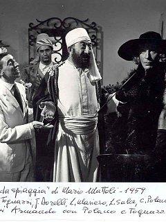Armando Bandini Nel Film Tipi Da Spiaggia Cinema 1959