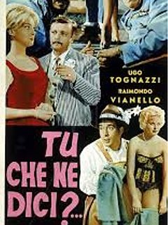 Armando Bandini Tu Che Ne Dici Locandina Cinema 1960