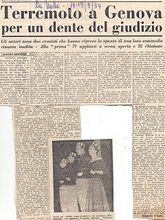 Armando Bandini E Emma Fedeli Recensione De Il Dente Senza Giudizio Al Nuovo Teatro 4 Fontane 2 1954