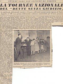 Armando Bandini E Emma Fedeli Recensione De Il Dente Senza Giudizio Al Nuovo Teatro 4 Fontane 3 1954