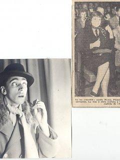 Armando Bandini Foto Di Scena De Il Dente Senza Giudizio E Tra Le Spettatrici Le Sorelle Nava 1954