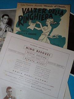 Armando Bandini Nel Valzer Della Ringhiiera 1951