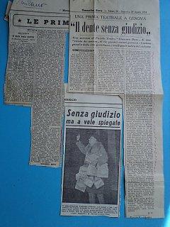 Armando Bandini Recensione De Il Dente Senza Giudizio 1954