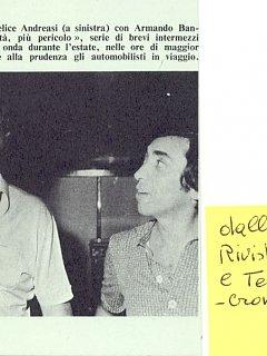 Armando Bandini In Piu Velocita Piu Pericolo Per Radio Rai 1971