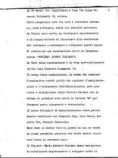 Armando Bandini Atto Costituzionale Della Sai Pag 2 4 Marzo 1960