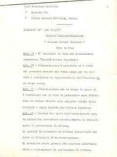 Armando Bandini Atto Costituzionale Della Sai Pag 4 4 Marzo 1960