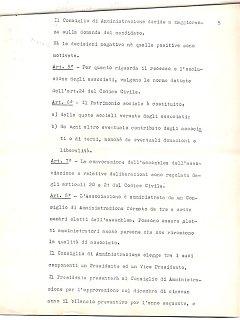 Armando Bandini Atto Costituzionale Della Sai Pag 5 4 Marzo 1960