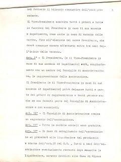 Armando Bandini Atto Costituzionale Della Sai Pag 6 4 Marzo 1960