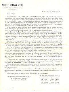 Armando Bandini Documenti Sai 1955