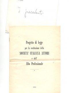 Armando Bandini E I Precedenti Per La Costituzione Della Sai 1955