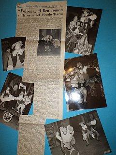 Armando Bandini Articoli Foto E Recensioni Della Commedia Il Volpone 1955