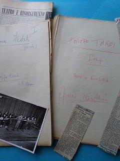 Armando Bandini Copione Della Commedia Troppo Tardi 1955