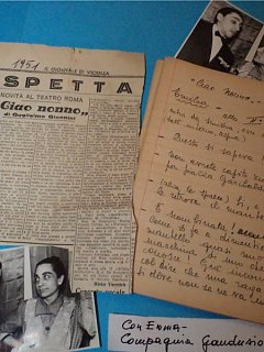 Armando Bandini E Emma Fedeli Nella Commedia Ciao Nonno Compagnia Gandusio Besozzi Solari 1951