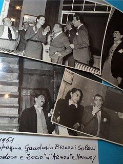 Armando Bandini E Emma Fedeli Nella Commedia Teodoro E Socio Compagnia Gandusio Besozzi Solari 1951