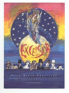 Armando Bandini Locandina2 Della Commedia Musicale Gran Ballo Excelsior 1999