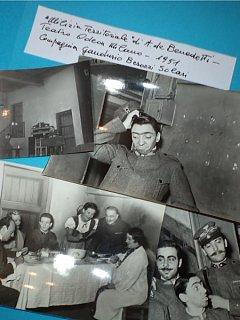 Armando Bandini Nella Commedia Milizia Territoriale Al Teatro Odeon Di Milano Compagnia Gandusio Besozzi Solari Teatro 1951