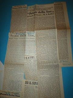 Armando Bandini Nella Commedia Prima Della Fine All Arena Villa Doria Di Pegli Genova 1953