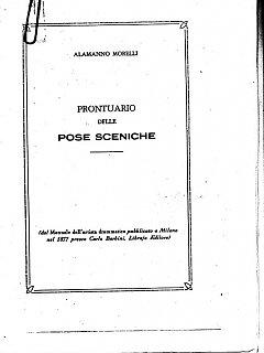 Armando Bandini Prontuario Delle Pose Sceniche Della Commedia Musicale Gran Ballo Excelsior 1999
