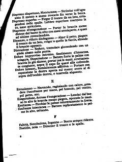 Armando Bandini Prontuario Delle Pose Sceniche2 Della Commedia Musicale Gran Ballo Excelsior 1999