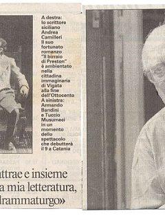 Armando Bandini Recensione Della Commedia Il Birraio Di Preston 1999
