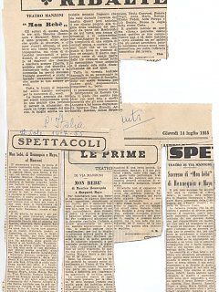 Armando Bandini Recensione Della Commedia Mon Bebe 1955