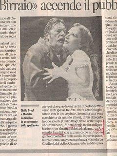 Armando Bandini Recensione2 Della Commedia Il Birraio Di Preston 1999