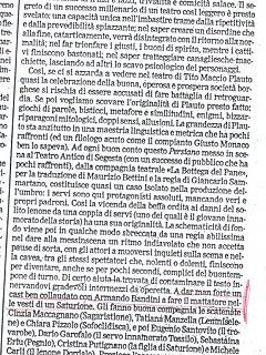 Armando Bandini Recensione3 De Il Persiano 2000