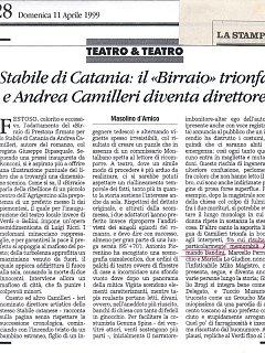 Armando Bandini Recensione5 Della Commedia Il Birraio Di Preston 1999