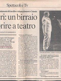 Armando Bandini Recensione6 Della Commedia Il Birraio Di Preston 1999