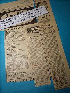 Armando Bandini Il Club Dei Suicidi Da Stevenson Con Rascel E La Fine Della Signora Cheyney Regia Di Vaccari Televisione 1957