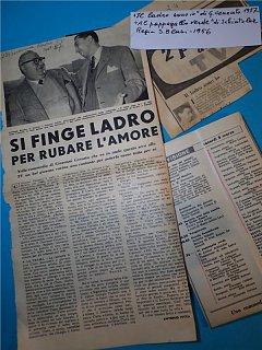 Armando Bandini In Il Ladro Sono Io Di Cenzato E Al Pappagallo Verde Di Blasi Televisione 1956