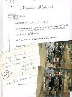 Armando Bandini Per Lo Spot Rai Tv 2002