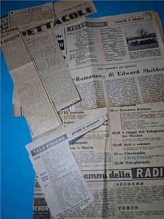 Armando Bandini Trasmissioni Varie 2 Televisione 1956
