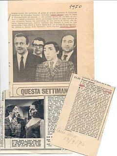 Armando Bandini Trasmissioni Varie 4 Televisione 1956