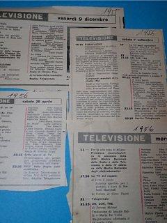 Armando Bandini Trasmissioni Varie Televisione 1956